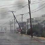 Nebraska power line structures damaged by storm