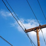 8 hour road shutdown caused by downed power lines