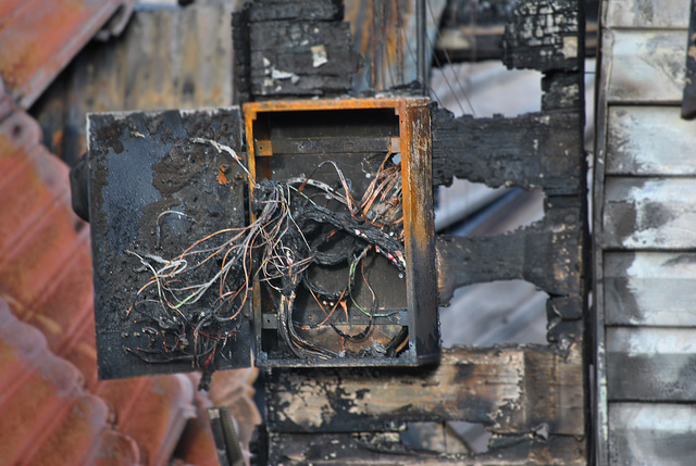 electrical fire 2 fuse box common causes of electrical fires and the best preventive measures old fuse box for home at crackthecode.co